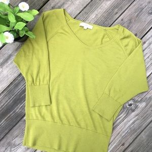 Loft Medium Green Sweater